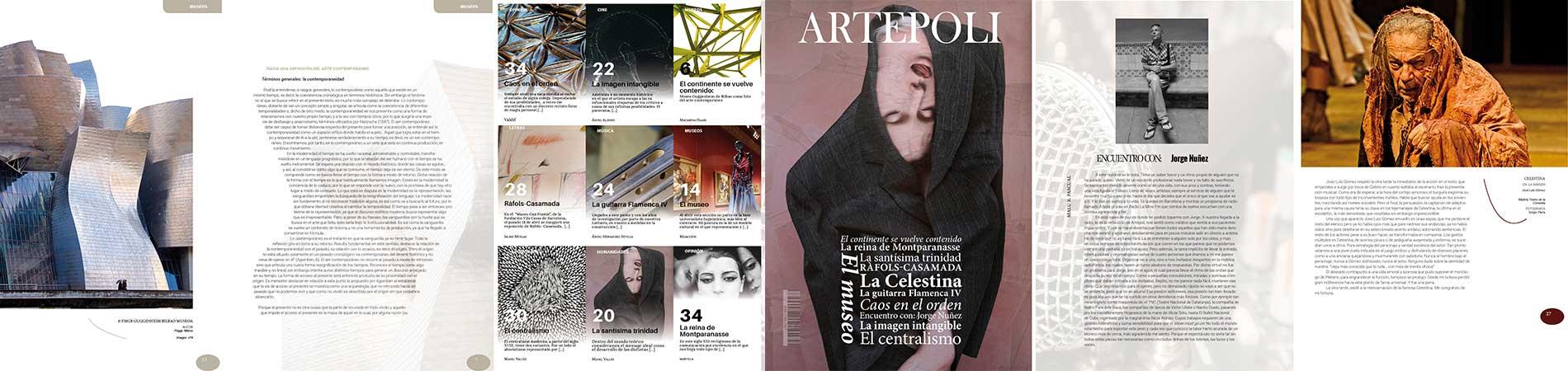 Ejemplar número IV revista artépoli