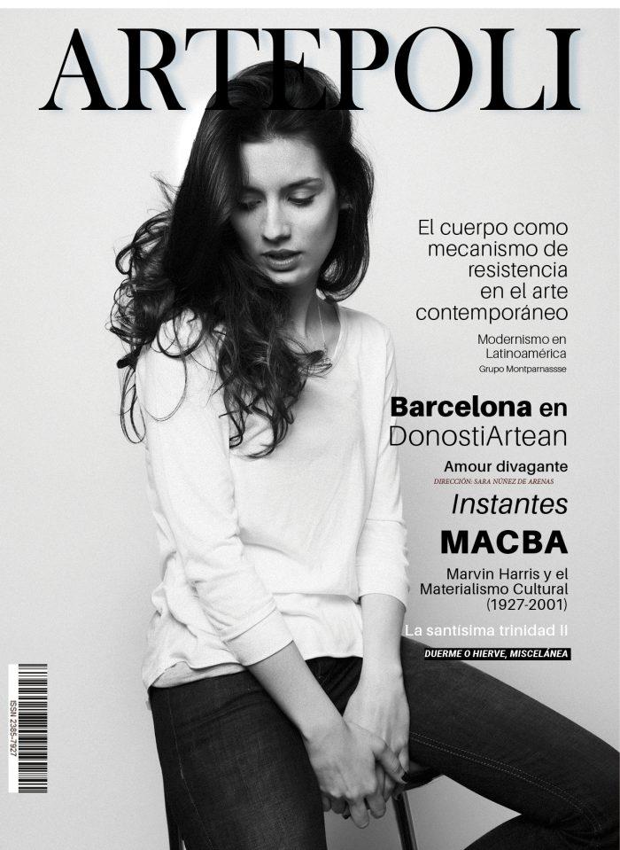 Revista de arte ARTEpoli Portada Zara Nuñez Arenas