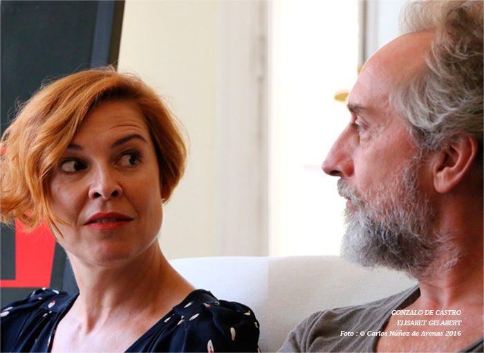 Gonzalo con Elisabet Gelabert