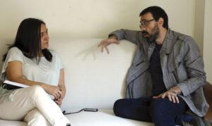 María José Cortes Robles Israel Elejalde Foto Carlos Nuñez de Arenas