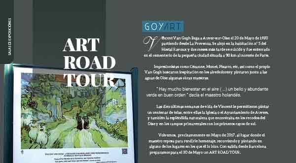 Art road tour