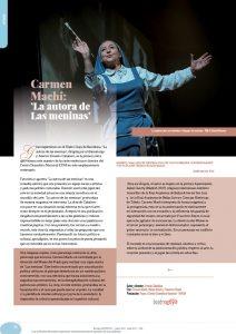 Carmen Machi: 'La autora de Las meninas'