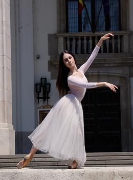 Ada González Fachada Ópera Nacional de Bucarest