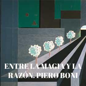 Entre la magia y la razón. Piero Boni