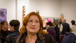 Mireia Correcher en Artepoli week Begemot