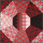 Victor Vasarely en Museo Thyssen-Bornemisza
