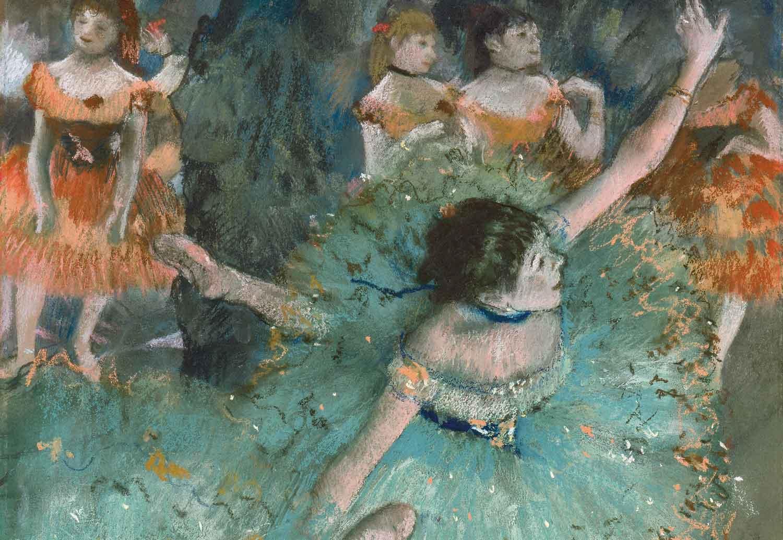Edgar Degas, Bailarina basculando