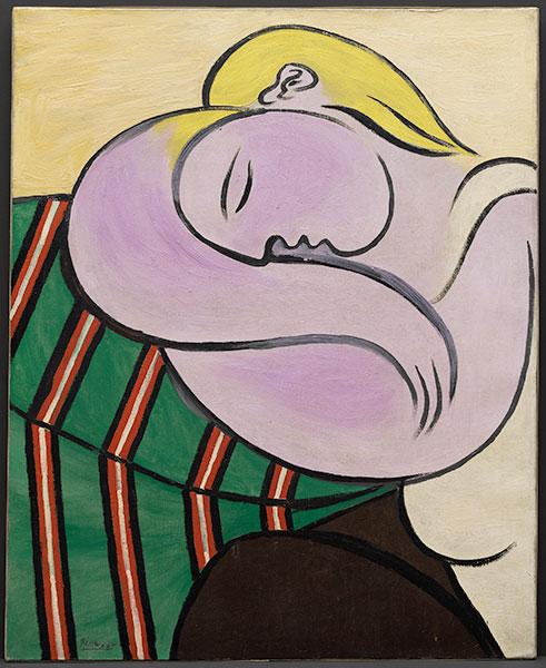 Pablo Picasso La mujer del pelo amarillo