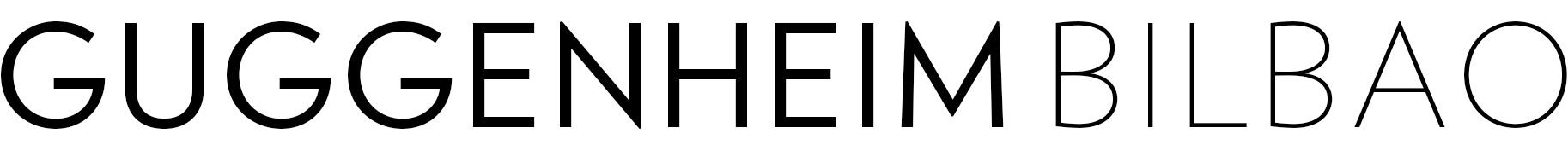 guggenheim bilbao logo