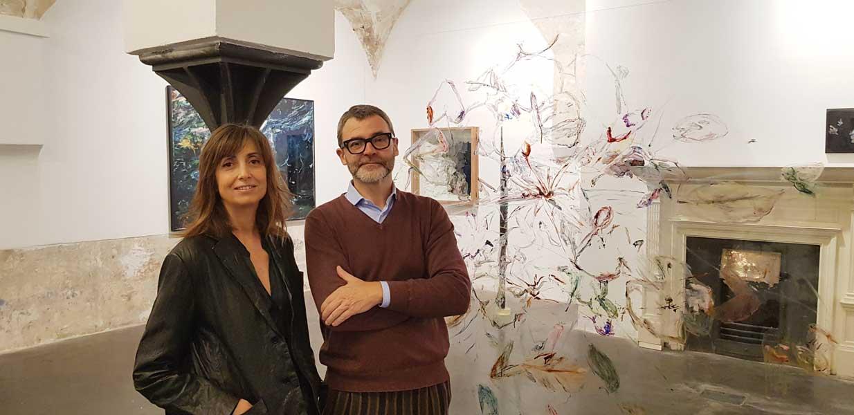 Rosa Galindo y Ferran Josa, Director de Pigment Gallery_2