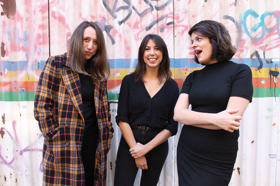 Ana Sanfrutos, Eugenia Chenlo, aida Cachavez